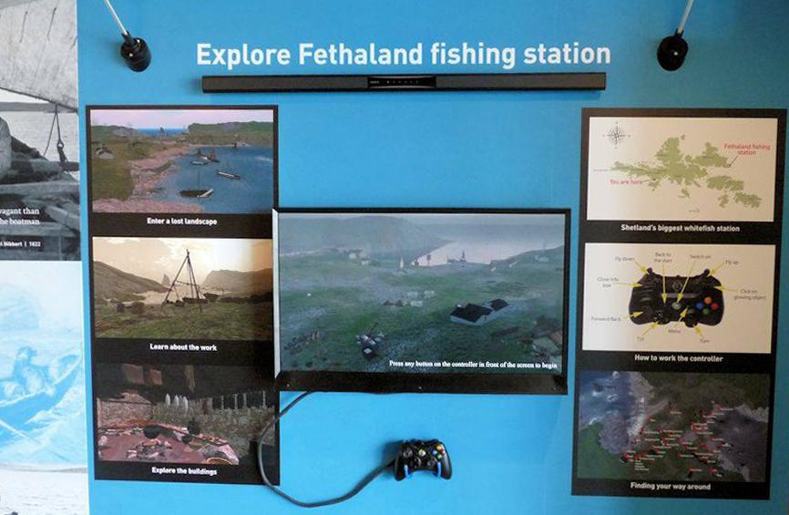 Shetland Museum installation -cropped